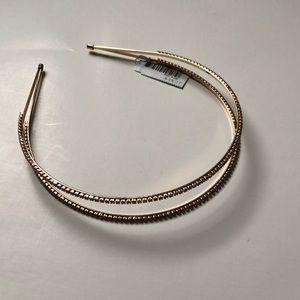 🆕 J. CREW Rhinestone Split Headband